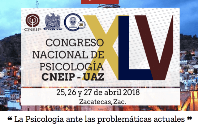 XLV Congreso Nacional de Psicología CNEIP