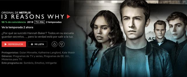 13 Reasons Why Temporada 2
